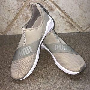 """🆕PUMA 👟Fierce """"Taupe"""" Slip On Sneaker"""